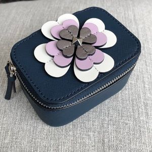 Kate Spade Reiley Flower Applique Jewelry Holder